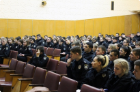 Інструктаж щодо забезпечення публічної безпеки й порядку під час виборчого процесу Президента України Фото