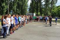 В ННІ № 2 відбулись спортивні заходи  приурочені Міжнародному Олімпійському дню Фото