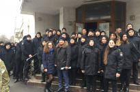 Особовий склад ННІ № 2 НАВС відзначили день українського добровольця Фото