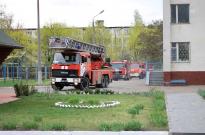 Інститутські навчання із заходів протипожежної безпеки Фото