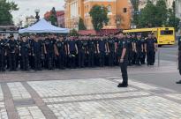 Участь особового складу ННІ № 2 у забезпеченні публічної безпеки під час Маршу-рівності «КиївПрайд 2019» Фото