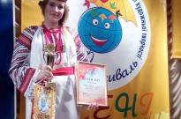 Курсант академії – переможець ХХІ міжнародного студентського фестивалі « Барви осені» Фото