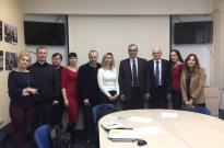 Участь у засіданні Комітету з судової експертизи Асоціація адвокатів України щодо питань експертизи об'єктів інтелектуальної власності Фото