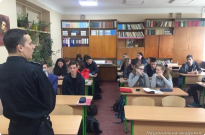 Правопросвітницька робота здобувачів вищої освіти ННІ № 2 НАВС з учнями середніх навчальних закладів Фото