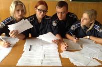 Вибори молодших командирів в інституті експертів-криміналістів Фото