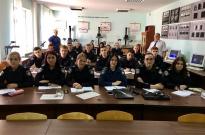 Інспектор-криміналіст відвідав практичне заняття курсантів Фото